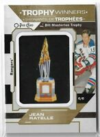 2019-20 O-pee-chee OPC hockey Jean Ratelle Trophy Winners Manufactured Patch