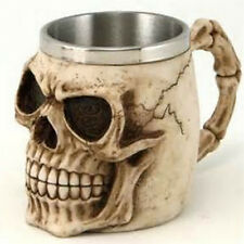 Alien Skeleton Resin Drinking Mug Cup Skull Tankard Horror Coffee Drinkware New