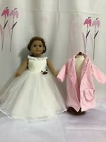 """Cinderella dress inspired by Disney's movie for American girl 18"""" Doll Dress 2pc"""