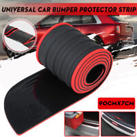 90cm Universal Car Rear Trunk Sill Bumper Guard Protector Rubber Pad Cover