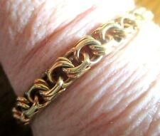 Superbe bracelet MURAI gourmette plaqué or poinçonné bijou vintage 608