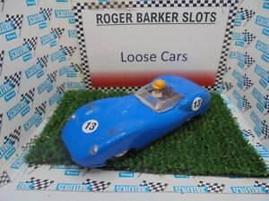 Scalextric  C56 Lister Jaguar  blue BH/LB #13    VG+ gwo unboxed bargain