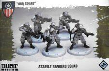 Dust Tactics, BBQ SQUAD, Assault Ranger Squad, dt004, 1/48, neuf dans sa boîte