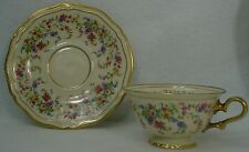 ROSENTHAL china ELEANOR Cream Ivory 2206/5024 pattern CUP & SAUCER Set