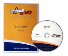 Back/Lifting Safety Training Dvd Kit W/Emp.Quiz, Certificate, Manual & More