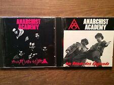 Anarchist Academy [2 CD Alben] Am Rande des Abgrunds + Anarchophobia