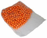 Shop4Paintball - ORANGE CRUSH - .68 Cal Paintballs Orange/Orange - Bag of 500