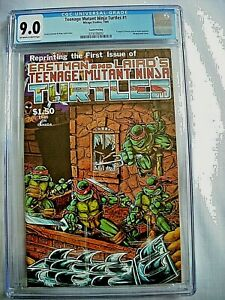 Mirage Studios TEENAGE MUTANT NINJA TURTLES #1 CGC 9.0 VF/NM 4th Ptg 1985