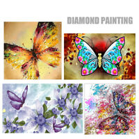 5D DIY Full Drill Diamond Painting Insect Butterfly Embroidery Cross Stitch Kit