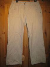 """Cecil Damen Jeans style:Mina Diamond"""" Gr.34 beige 32Inch getragen"""