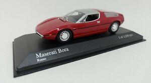 MINICHAMPS 1:43 - Maserati Bora 1972 Rouge 400123404 1 Des 1200 Pièces
