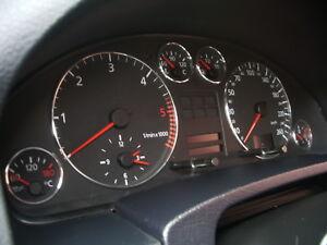 AUDI A6 / Audi A4 ( 1997-2005 ) - ALU TACHORINGE / TACHO RINGE / ALURINGE