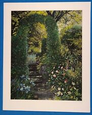 """Susan Rios """"The Path to Yourself"""" Original Serigraph Signed & PP Edition 1991"""
