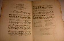 Anniversaire Naissance S.A.R. Duc de Bordeaux. Musique M.J. de la Montagne.