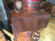 GRANDE scatola Vittoriano Tea Caddy Scatola Gioielli Jewels uomo