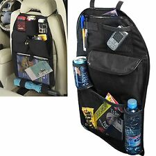 KIDS UNIVERSAL CAR BACK SEAT TIDY HANGING MULTI POCKET TRAVEL STORAGE ORGANIZER