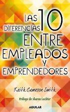 Las 10 diferencias entre empleados y emprendedores (Spanish Edition)-ExLibrary