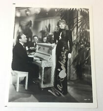 MARLENE DIETRICH ~ signed 8x10 ~ AUTOGRAPH