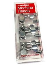 Gotoh SGM Chrome Sealed 3x3 Mini Tuners for Acoustic & Electric Guitar