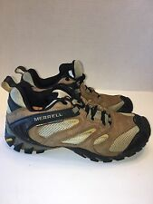 MERRELL Passage Ventilator Wo's 7M Earth Brown Low Cut Trail Hiking Shoe Vibram
