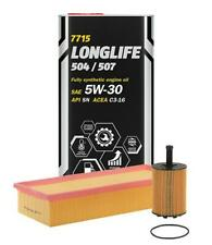 Mannol Synthetic Engine Oil + Oil Filter SAE 5W30 VW Golf MK5 V1.9TDi 1896cc 5L