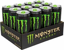 Monster Energy Drink 500ml Cans (Pack Of 12) - Big 500ml Cans