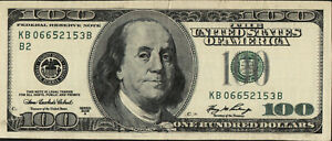 United States 2006 A 100 Dollars Bank Note UNC Forgery note very rare