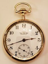 """BALL 333 ELGIN """"RARE"""" 18S. 21J. RAILROAD WATCH (1906) ONLY MADE 1,500 14K. G.F."""