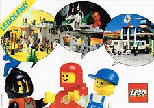 Vintage 1986 Lego Product Catalog Booklet 112717/112817 Pamphlet Complete