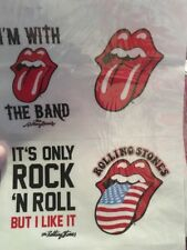 The Rolling Stones  ***. Removable Phone/tablet Stickers New (l)