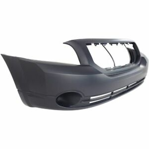 NEW PRIMED FRONT BUMPER COVER W/FOG FOR 07-12 CALIBER CH1000870 SHIPS TODAY