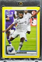 2020 Bowman MLS Orji Okwonkwo RC Yellow Parallel 5/75 Montreal Impact Prospect!!