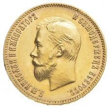 1903 Russia 10 Rubles World Gold Coin *0420