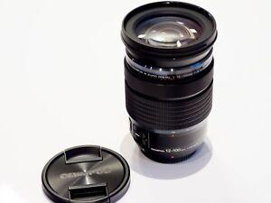 Olympus M.Zuiko digital ED 12-100mm 4.0 IS PRO schwarz 12-100 mm f4 I.S.