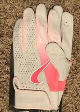 Rare Nike Force Elite Batting Gloves Mother's Day MLB Pink CU2399-657 Size L