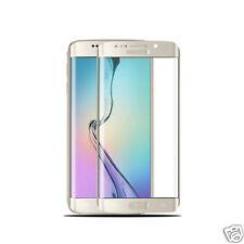 Curved Schutzglas Samsung Galaxy S6 Edge Panzerfolie Panzer Glas Folie GOLD