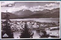 Alaska Steamship Company 1934 SS Yukon Menu w Seward Aerial View cover