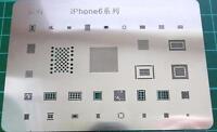 Iphone 6  BGA Stencil template - IC Chip Reball 33 in 1 Direct heat Stencil