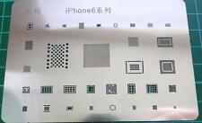 IPhone 6 BGA Pochoir Template-ic chip reball 33 en 1 chaleur directe pochoir