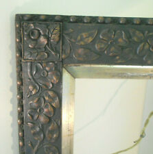 "Antique Ex- Large Hand Carved Wood Painting Picture Frame- 28"" x 32"""