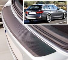 BMW 3 Series Touring F31 - Carbon Style rear Bumper Protector