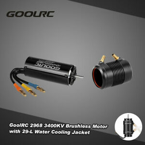 GoolRC 2968 3400KV Brushless Motor and 29-L Water Cooling  C4S4