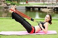 70lb/32kg Resistance Exercise Fitness Yoga Covered Tube Band