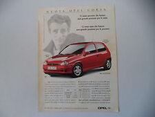 advertising Pubblicità 1995 OPEL CORSA GSI 16V