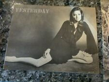 Fanzine set of 3 Yesterday VF # 1 2 3 with Avengers Diana Rigg , Frankenstein