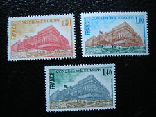 FRANCE - timbre yvert et tellier service n° 53 a 55 n** (A9) stamp french (Z)