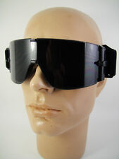 NEW Goggles Motorcycle Safety Tactical WITH 2 x SPARE LENSES Scooter Ski Biker