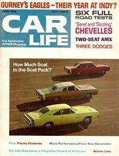 CAR LIFE 1968 APR - SCAT PACKS TESTED, SS396 & AMX TESTS, GURNEY EAGLES