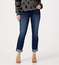 KUT from the Kloth Catherine Boyfriend Jeans - Become (Blue) - Plus 22
