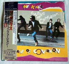 The Kinks - State Of Confusion (1983) / JAPAN MINI LP SHM CD (2008) +4 tracks